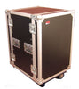 Gator 16U, Standard Audio Road Rack Case with Casters (G-TOUR 16U CAST)