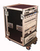 Gator G-TOUR 16U CAST Standard Audio Road Rack Case with Casters