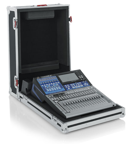 Gator Cases G-Tour ATA Style Road Case-Custom Fit for The Presonus SL16 Mixer with Heavy Duty Hardware (G-TOURPRESL16NDH)