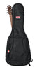 Gator 4G Style gig bag for acoustic guitars with adjustable backpack straps, GB-4G-ACOUSTIC