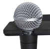 Gator Cases GFW-MIC-4TRAY Multi Microphone Tray - Holds 4 Mics.