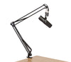 Gator Cases GFWMICBCBM1000 Desk-Mounted Broadcast Microphone Boom Stand for Podcasts & Recording.
