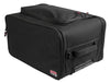 Gator 4U Lightweight rack bag w/ tow handle and wheels
