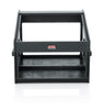 Gator 10U Top, 4U Side Wood Console Audio Rack