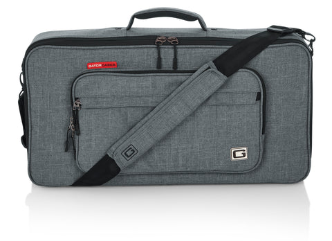 "Gator Cases Transit Series Equipment and Accessory Bag; 24"" x 12"" - Grey GT-2412-GRY"