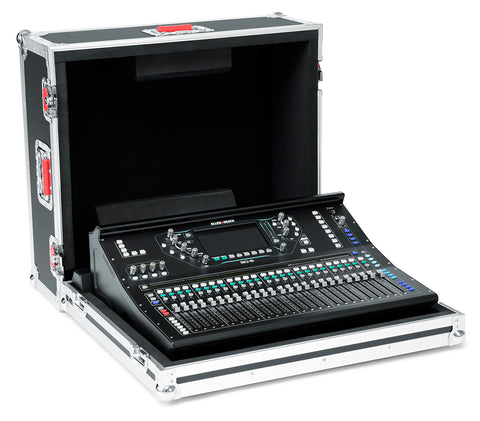 Gator Cases G-TOUR ATA Style Road Case - Custom Fit for the Allen & Heath SQ-6 Mixer with Heavy Duty Hardware (G-TOURAHSQ6NDH)