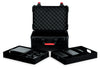 Gator TSA Series ATA Molded Polyethylene Case for (7) Wireless Microphones with (2) Lift Out Trays for Recievers, Beltpacks and Accessories.