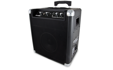 Alesis TransActive Wireless Portable 50W Powered Bluetooth Speaker System with up to 50-hour Rechargeable Battery