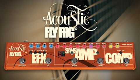 Tech 21 Acoustic Fly Rig Multi-Effects Guitar Processor