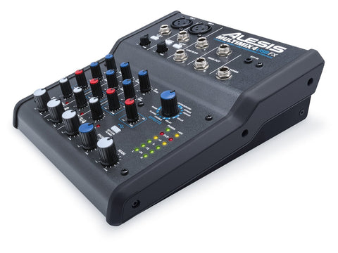 Alesis Multimix 4 USB FX | 4-Channel Mixer with Effects & USB Audio Interface (Refurb)