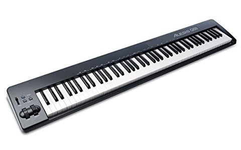 Alesis Q88 | 88-Key USB/MIDI Keyboard Controller with Pitch & Mod Wheels Refurbished