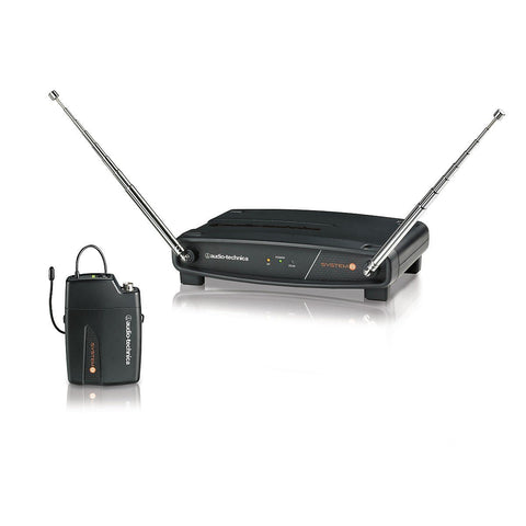 Audio-Technica System 8 Wireless System includes: ATW-R800 Receiver and ATW-T801 UniPak Transmitter 169.505 MHz