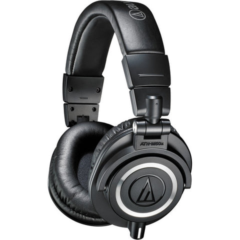 Audio-Technica ATH-M50x Professional Studio Monitor Headphones (Refurb)