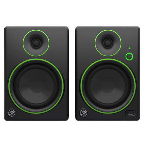 "(2) Mackie CR4BT 4"" Studio Monitors/Computer Speakers w/Bluetooth+Headphones"