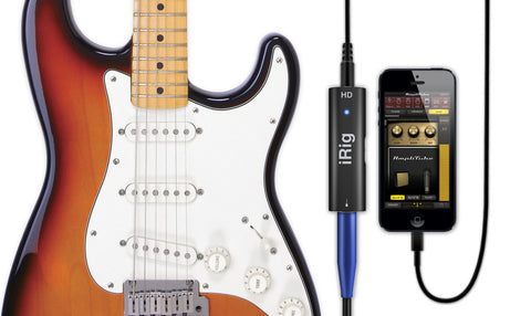 IK Multimedia iRig HD studio-quality guitar interface for iOS and Mac