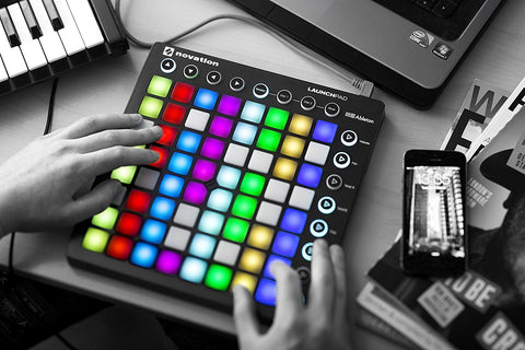 Novation Launchpad Ableton Live Controller with 64 RGB Backlit Pads (8x8 Grid) Refurb