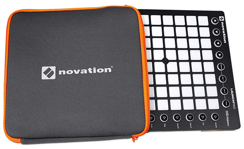 Novation Launchpad S MK2 64-Button Music Controller, Ableton Live and Launchpad Sleeve Soft Carry Bag Bundle (Used)