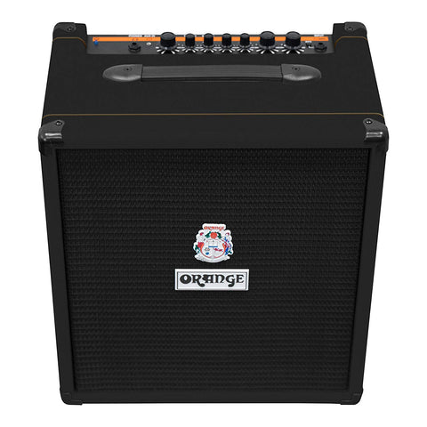 Orange Crush Bass 50 watt Bass Guitar Amp Combo, Black (Refurb)