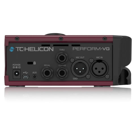 TC Helicon PERFORM-VG, Ultra-Simple Mic-Stand-Mount Vocal and Acoustic Guitar Processor (Refurb)
