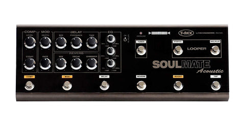 T-Rex SOULMATE-ACOUSTIC Multi-Effects 5 Pedal In 1