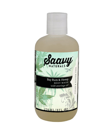 Bay Rum & Hemp Body Wash with Moringa Oil