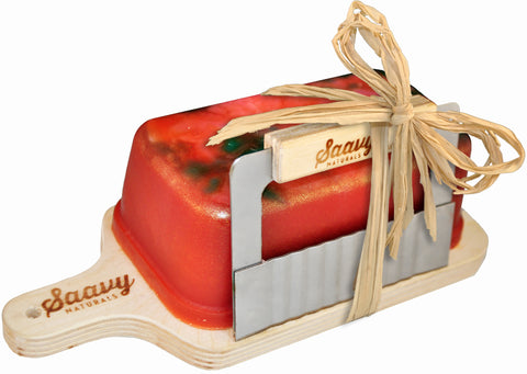 Mango Papaya Handcrafted 1lb. Soap Loaf Gift Set