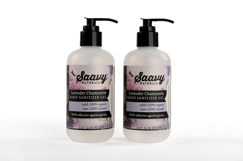 Lavender Chamomile Gel Sanitizer 2-Pack