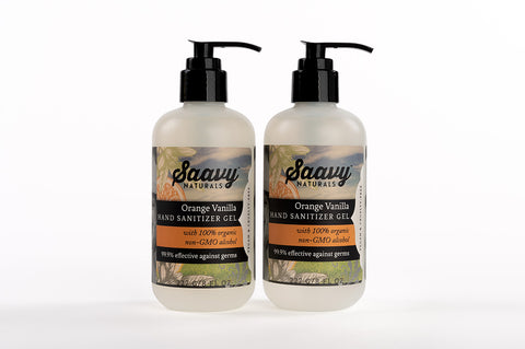 Orange Vanilla Gel Sanitizer 2-Pack
