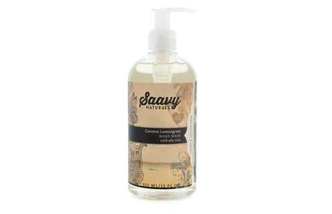 Natural and Organic Hand Wash - Coconut Lemongrass