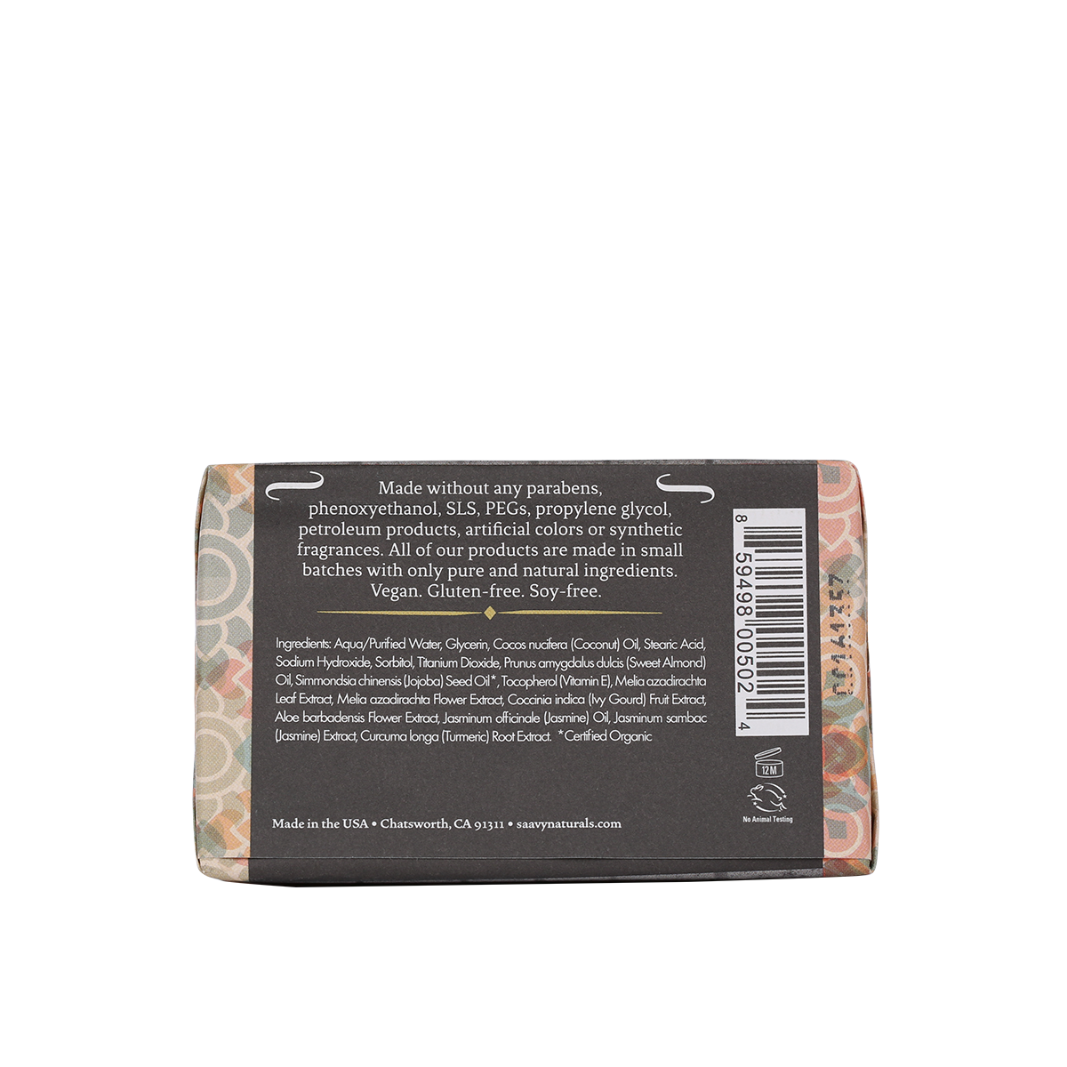 Natural and organic bar soap jasmine saavy naturals izmirmasajfo