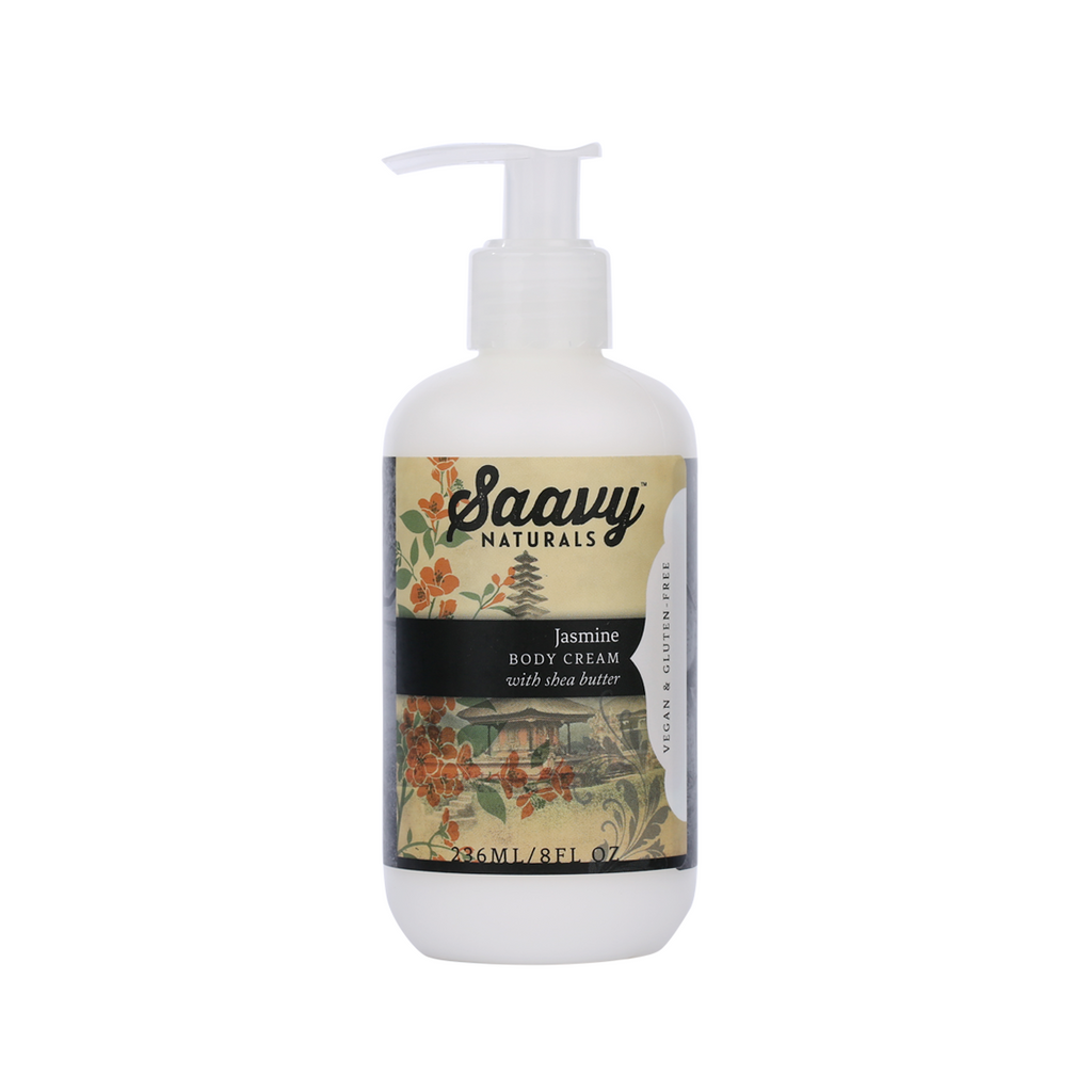 Natural and Organic Body Cream - Jasmine
