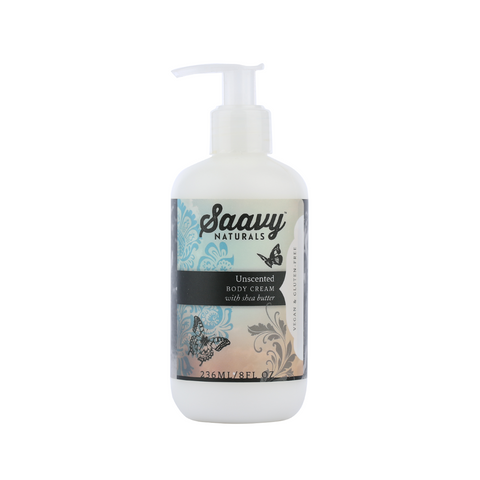 Natural and Organic Body Cream - Unscented