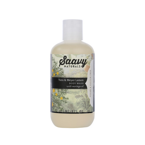 Natural and Organic Body Wash - Yuzu & Meyer Lemon