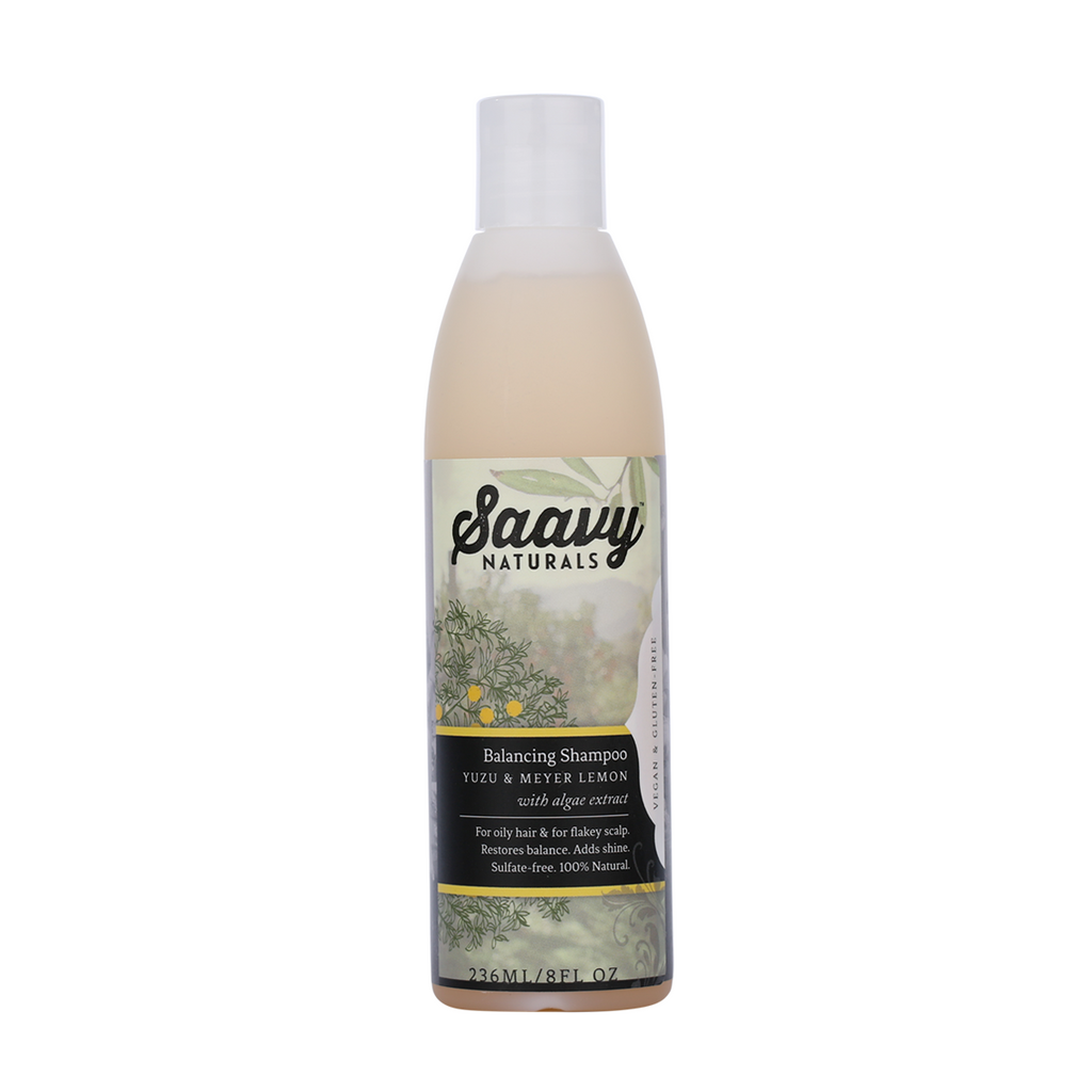 Natural And Organic Balancing Shampoo - Yuzu & Meyer Lemon