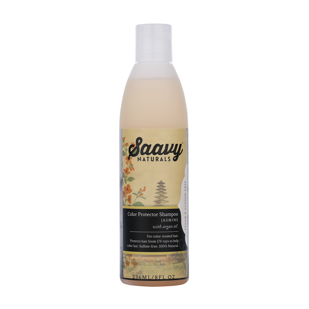 Natural and Organic Color Protector Shampoo - Jasmine
