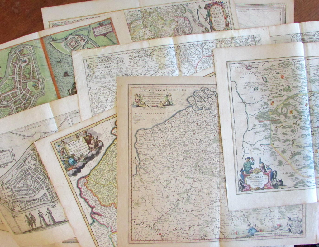 New Arrivals-Late-July 2018 - antiquarian maps