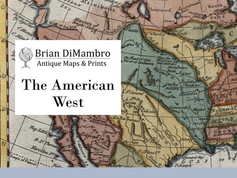 American West Antique Maps
