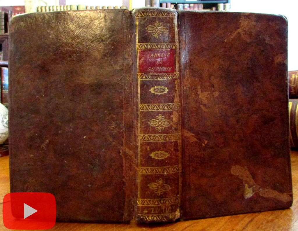 World gazetteer 1805 gilt decorated leather book 7 fldg maps continents
