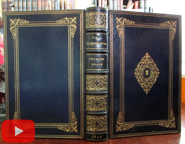Hugh Thomson Illustrated 1899 Read gorgeous gilt leather book binding