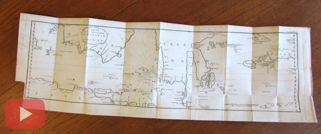 East Indies old map 1798 Stavorinus Jansen Java Borneo Celebes Ceram Bali