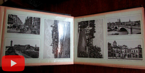 View scrapbook album c.1895-1900 Holy Land Jerusalem London Montreal Canada