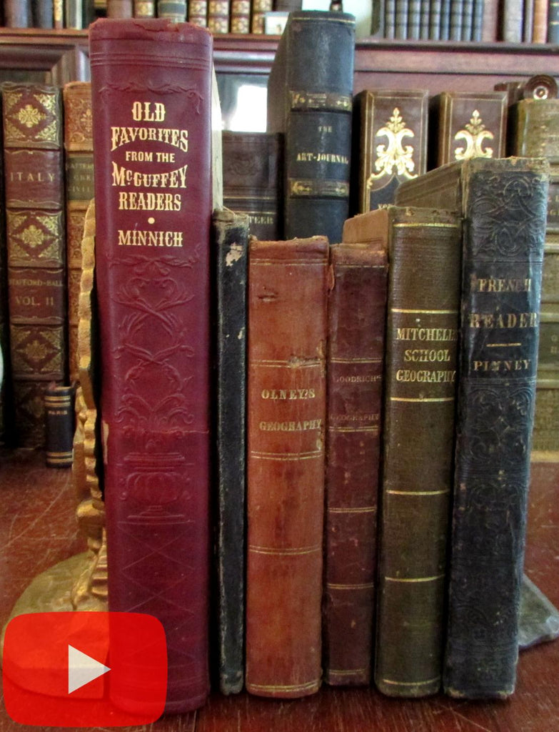 Geography Territorial U.S. Republic of Texas 1830-50 Lot 5 Education books maps views