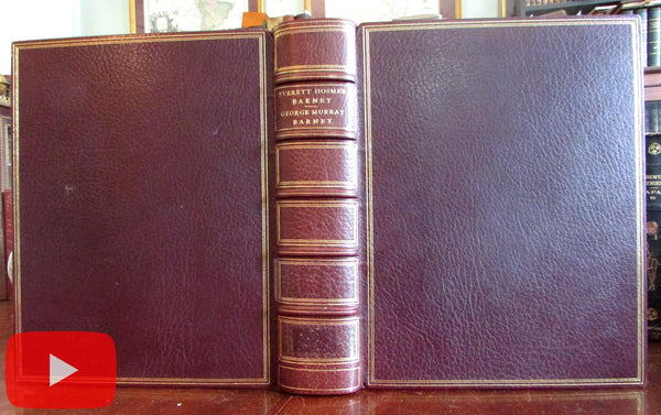 Everett Hosmer Barney Life 1912 George Murray Barney Family Genealogy book