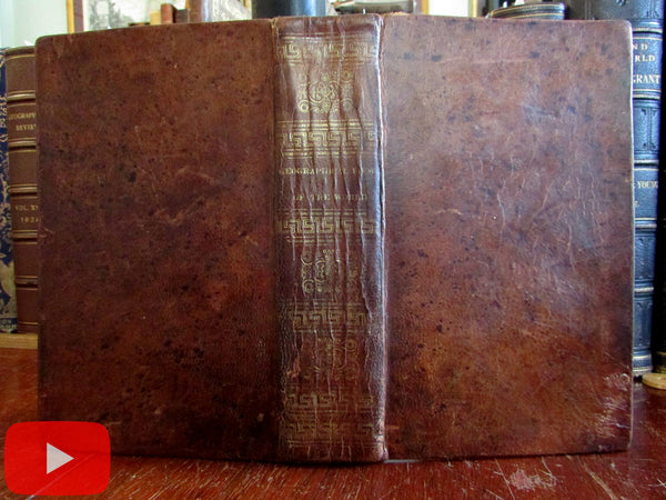 World Geographical View Manners Customs peoples 1826 illustrated book