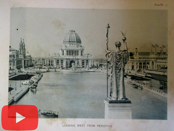 Chicago Columbian Exposition 1893 Official View books 230 photogravure photos