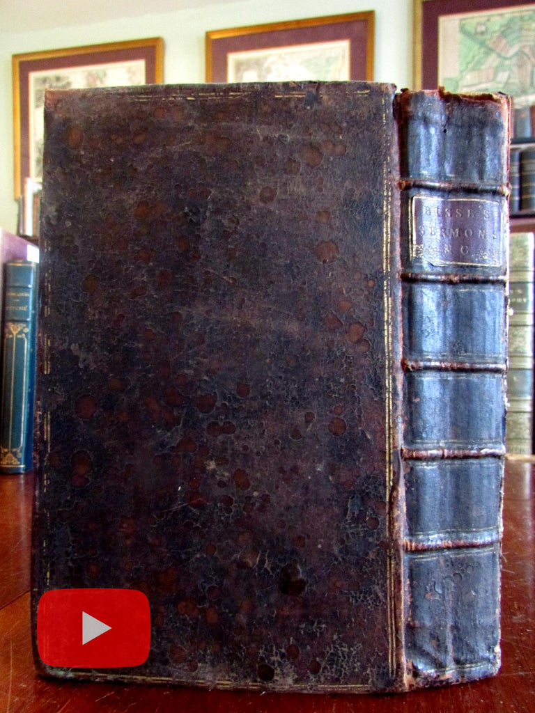 Thomas Bisse 1736-42 Sermons Lords Prayer Common Prayer Christianity rare book