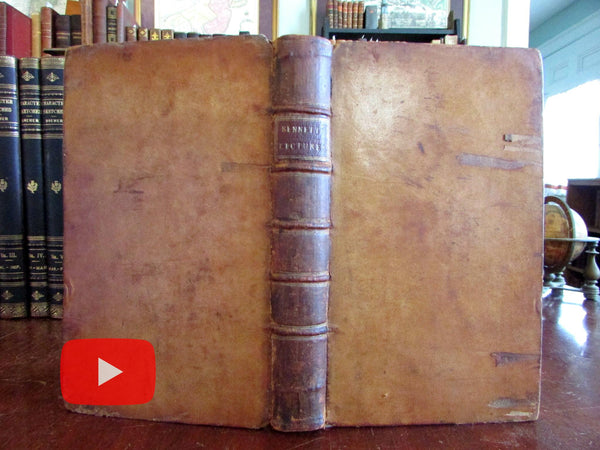 Church Catechism 1775 Bennett leather book Apostles Creed St. John Evangelist