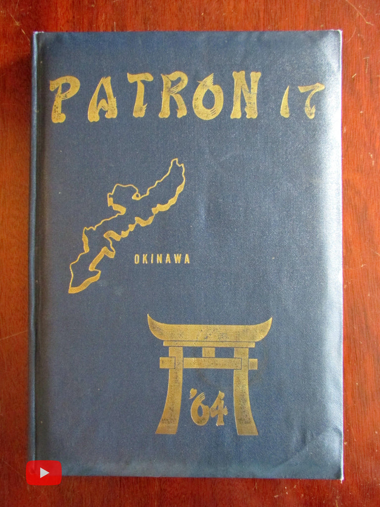U.S. Navy Squadron 17 Seventeen 1964 Okinawa Japan Pacific Yearbook VP-17