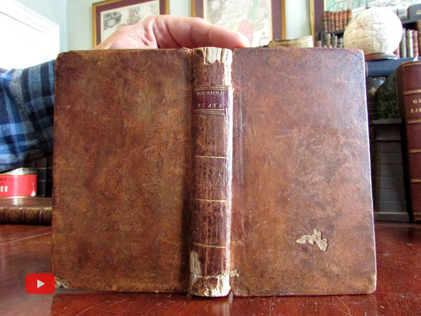 Human Nature 1796 American book by Thomas Boston rare psychology book