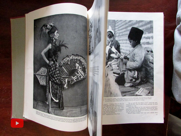 Asia Africa World Travel 1928 Art Deco graphics magazine 12 issues Ads photos